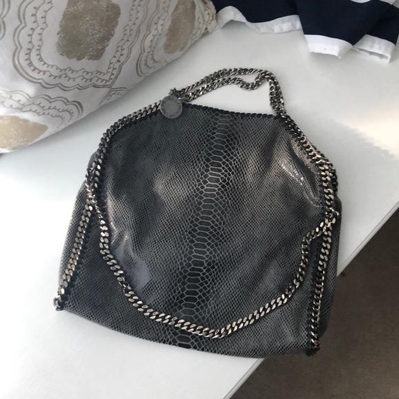 Python print Falabella Stella McCartney bag. M 5b9ec8ac3c98447eead6369d edf93f2acd866
